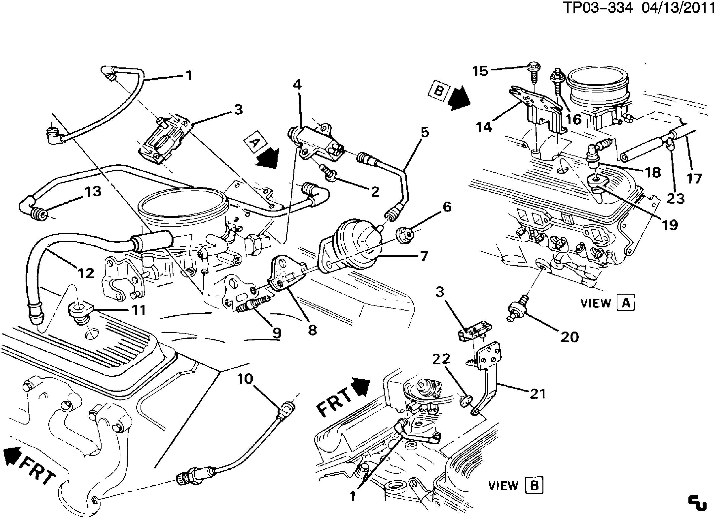 Nb 9521  Chevy 350 Engine Diagram 1983 Chevy I Need A Belt Schematic Wiring