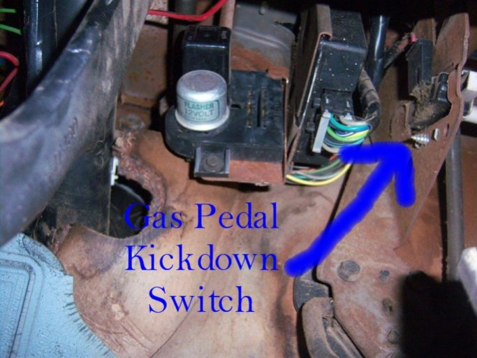 Stupendous Th400 Kickdown Switch Information Gm Square Body 1973 1987 Wiring Cloud Hemtegremohammedshrineorg