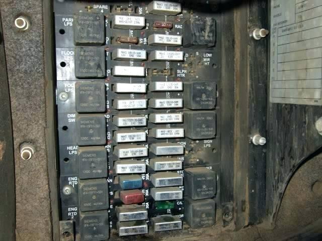 kenworth w900 fuse box diagram  save wiring diagrams forum