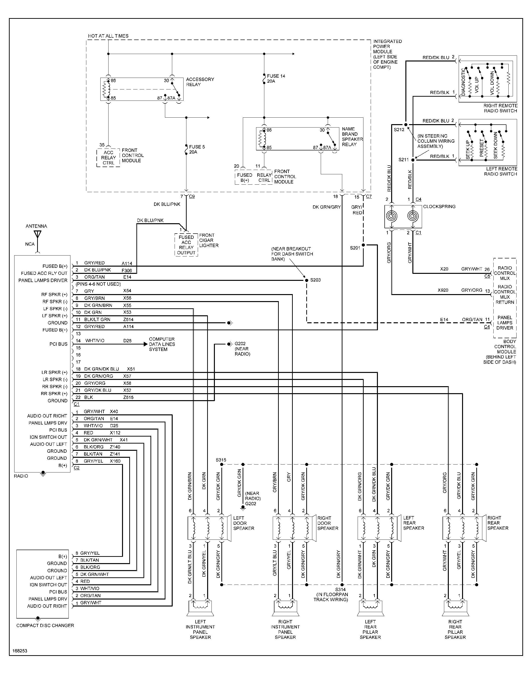 Dodge Caravan Speaker Wiring Diagram - Heating Only Thermostat Wiring  Diagram for Wiring Diagram SchematicsWiring Diagram Schematics