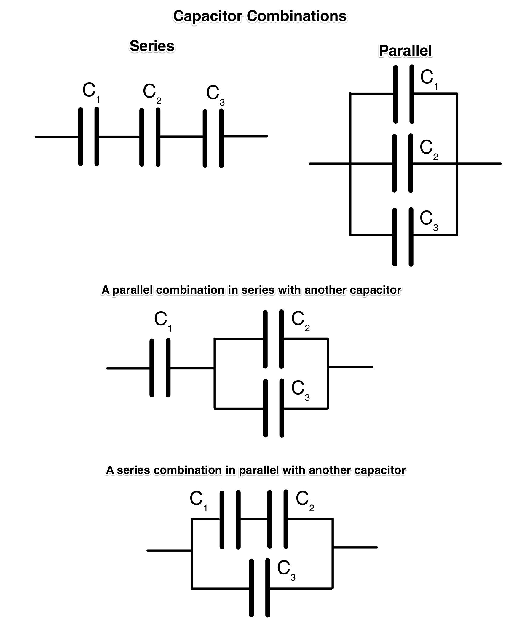 Brilliant Combination Capacitor Circuits Physics Socratic Wiring Cloud Lukepaidewilluminateatxorg