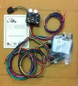 Strange Ez Wiring Kits Hotrod Hotline Basic Electronics Wiring Diagram Wiring Cloud Onicaalyptbenolwigegmohammedshrineorg