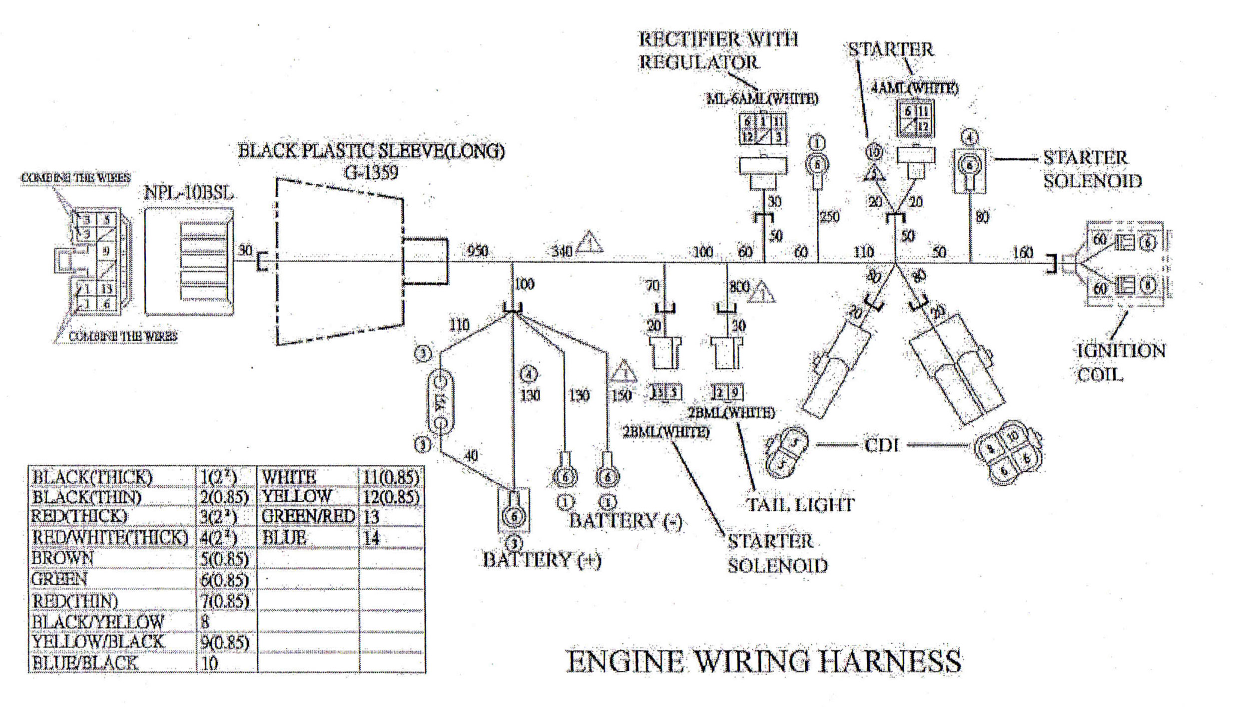 Sensational 150Cc Dune Buggy Wire Harness Basic Electronics Wiring Diagram Wiring Cloud Overrenstrafr09Org