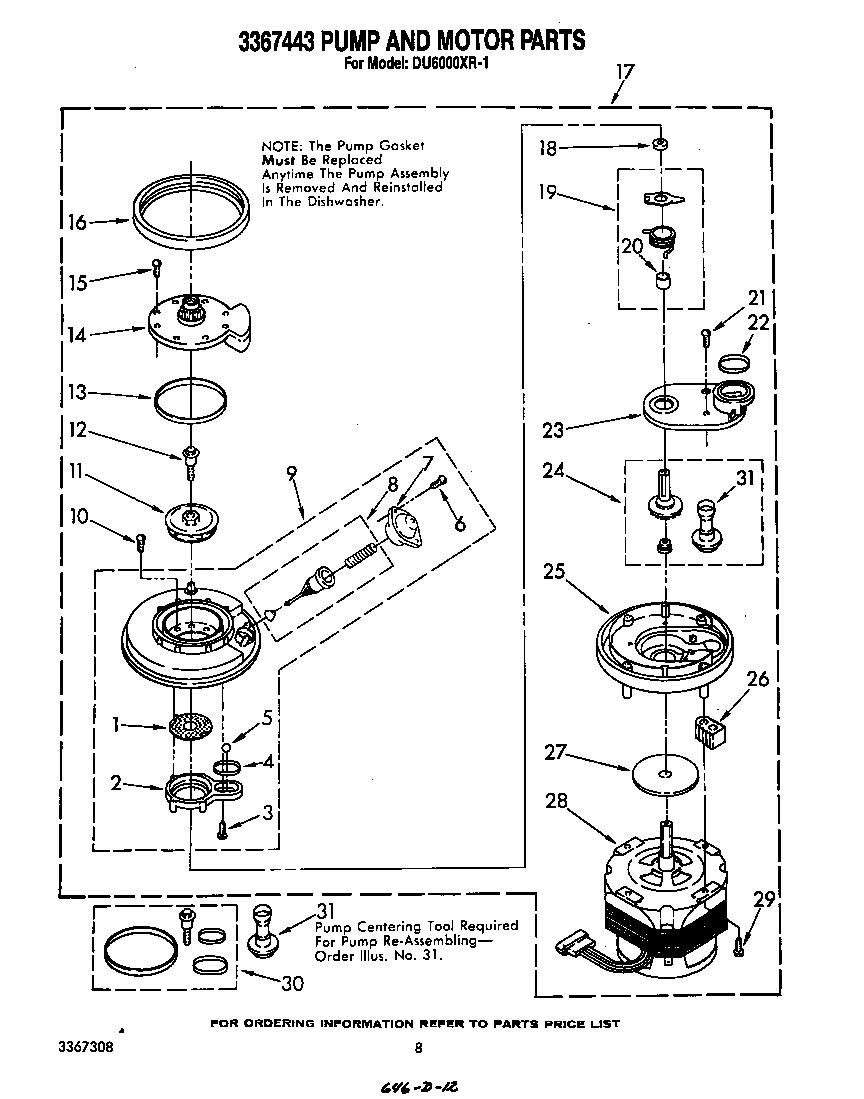 Astounding Whirlpool Dishwasher Parts Diagram Basic Electronics Wiring Diagram Wiring Cloud Rineaidewilluminateatxorg