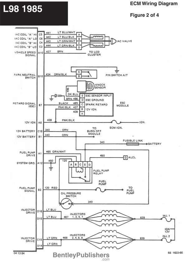 Fantastic Wiring Diagram L98 Engine 1985 1991 Gfcv Tech Bentley Wiring Cloud Monangrecoveryedborg