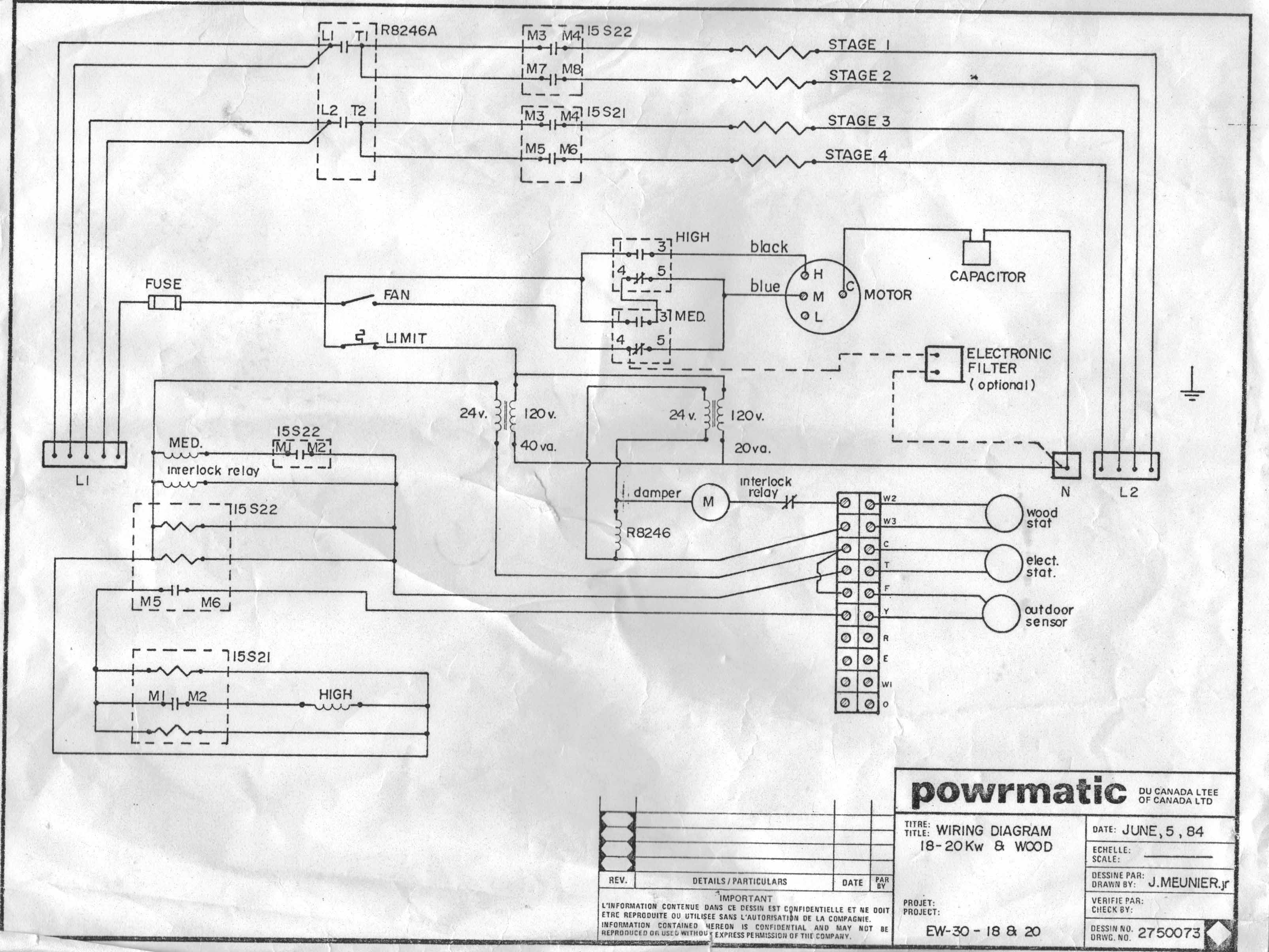 Tremendous Electric Heat Pump Wiring Diagram Intertherm Furnace Basic Wiring Cloud Overrenstrafr09Org