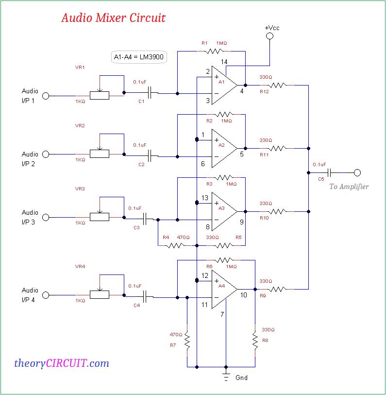 Wondrous Audio Mixer Circuit Wiring Cloud Counpengheilarigresichrocarnosporgarnagrebsunhorelemohammedshrineorg