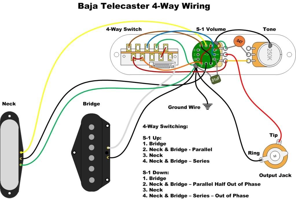 Prime Baja Telecaster 4 Way Switch Mod Wiring Cloud Orsalboapumohammedshrineorg