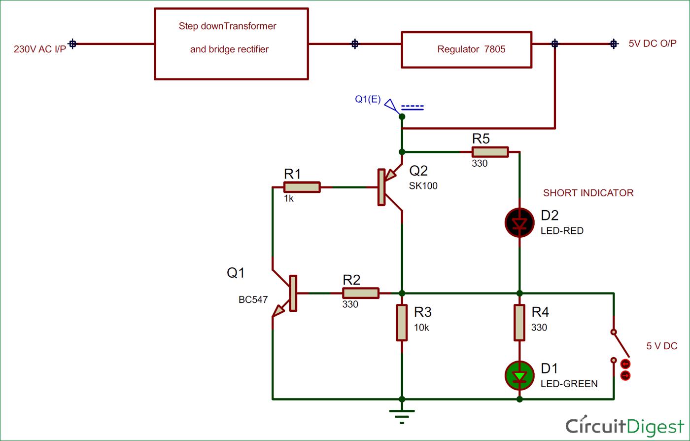 Pleasant Simple Short Circuit Diagram Short Circuit Protection Circuit Wiring Cloud Hisonepsysticxongrecoveryedborg