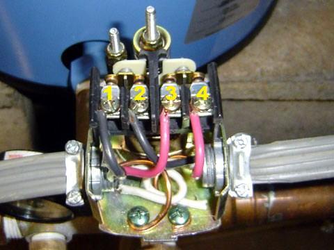 220v Pressure Switch Wiring Diagram