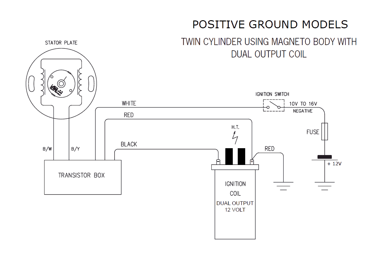 Fine 6 Volt Positive Ground Electrical System Wiring Diagram Wiring Wiring Cloud Faunaidewilluminateatxorg