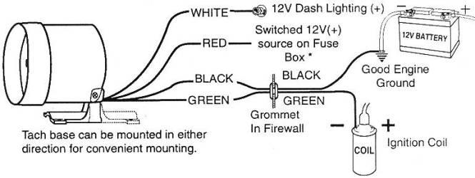 Super Sun Tachometer Wiring Diagram