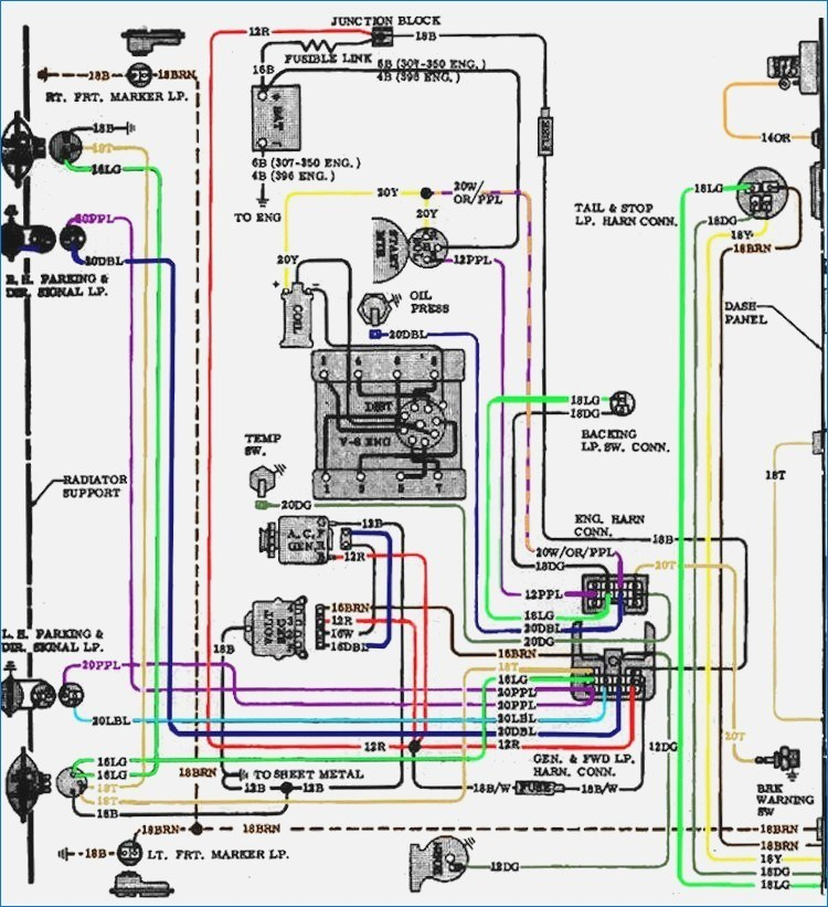 70 Chevelle Gauge Wiring Diagram Harley Ignition Wiring Diagram With Car Coorsaa Pontiacs Jeanjaures37 Fr