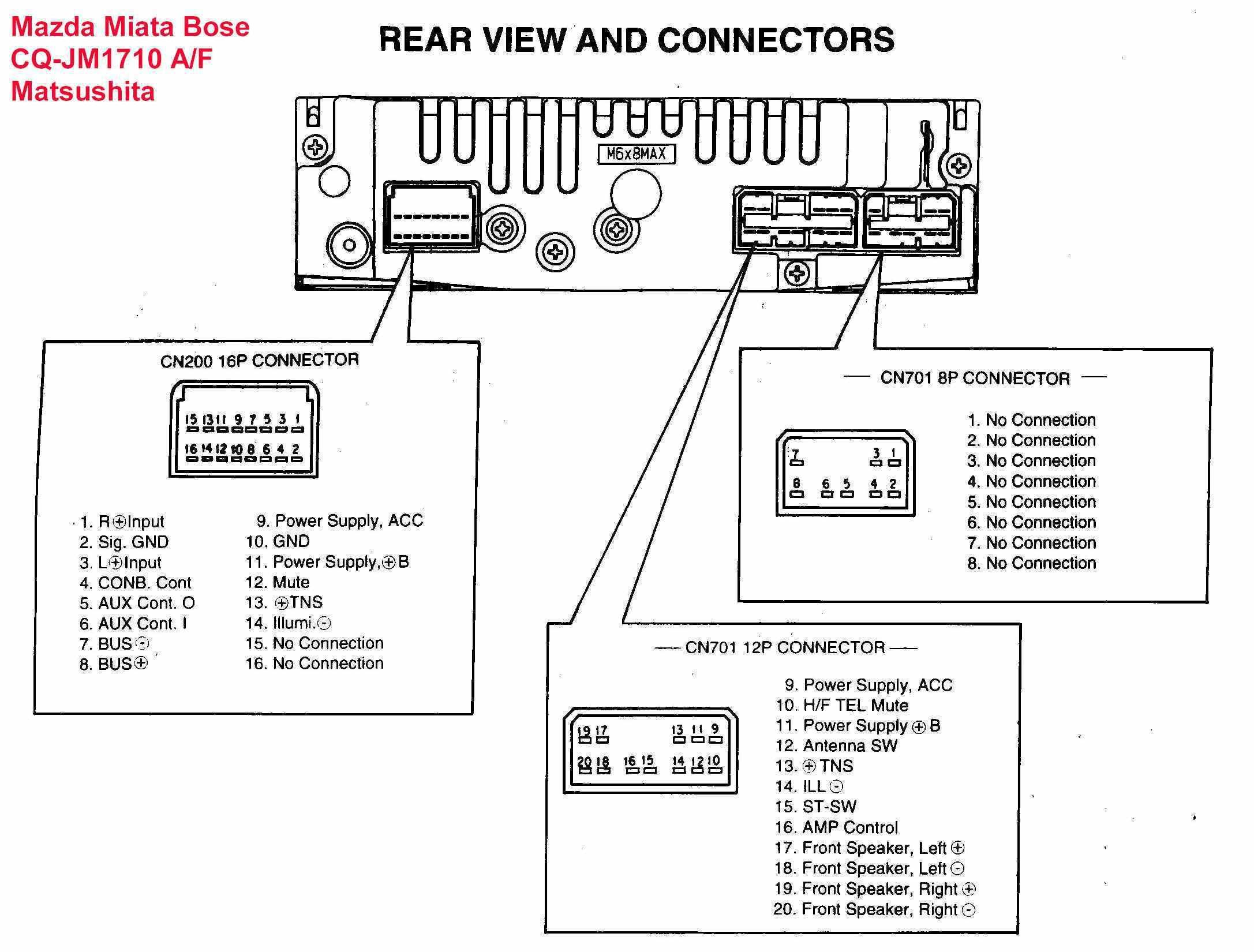 AX_1591] Pioneer Deh P41 Car Audio Wiring Download Diagram
