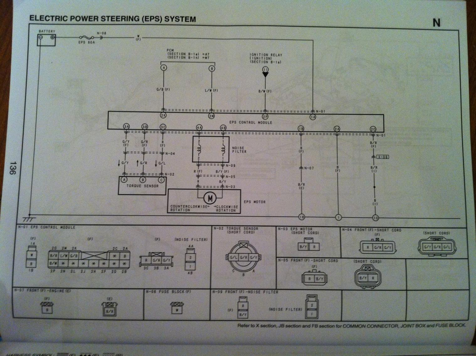 Ve 2515 Electric Power Steering Wiring Diagram Wiring