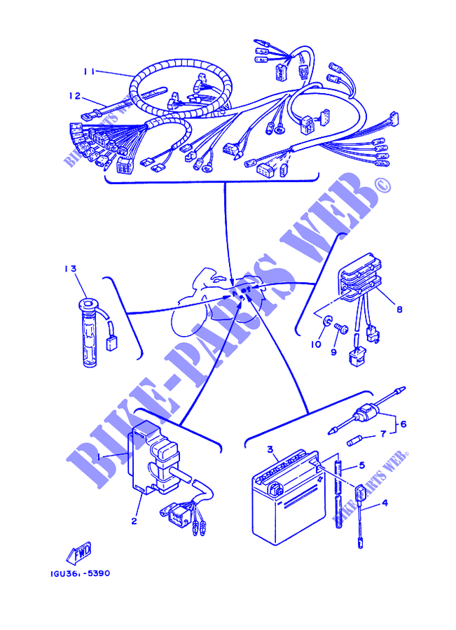Vk 1763 1986 Moto 4 Yamaha Wiring Diagram Free Diagram