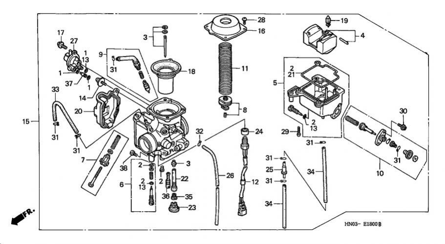 Marvelous Trx 450 Carb Wiring Diagram Basic Electronics Wiring Diagram Wiring Cloud Staixaidewilluminateatxorg