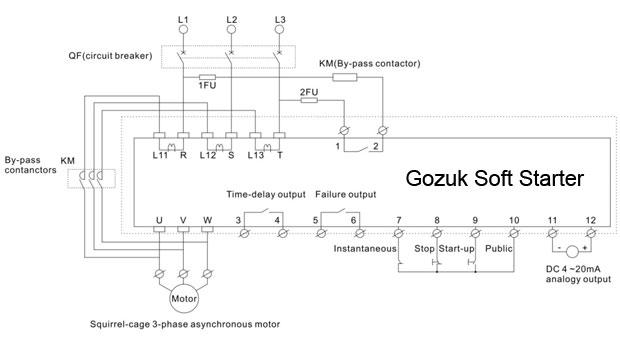 Amazing Soft Starter Wiring Diagram Wiring Diagram Data Schema Wiring Cloud Licukshollocom