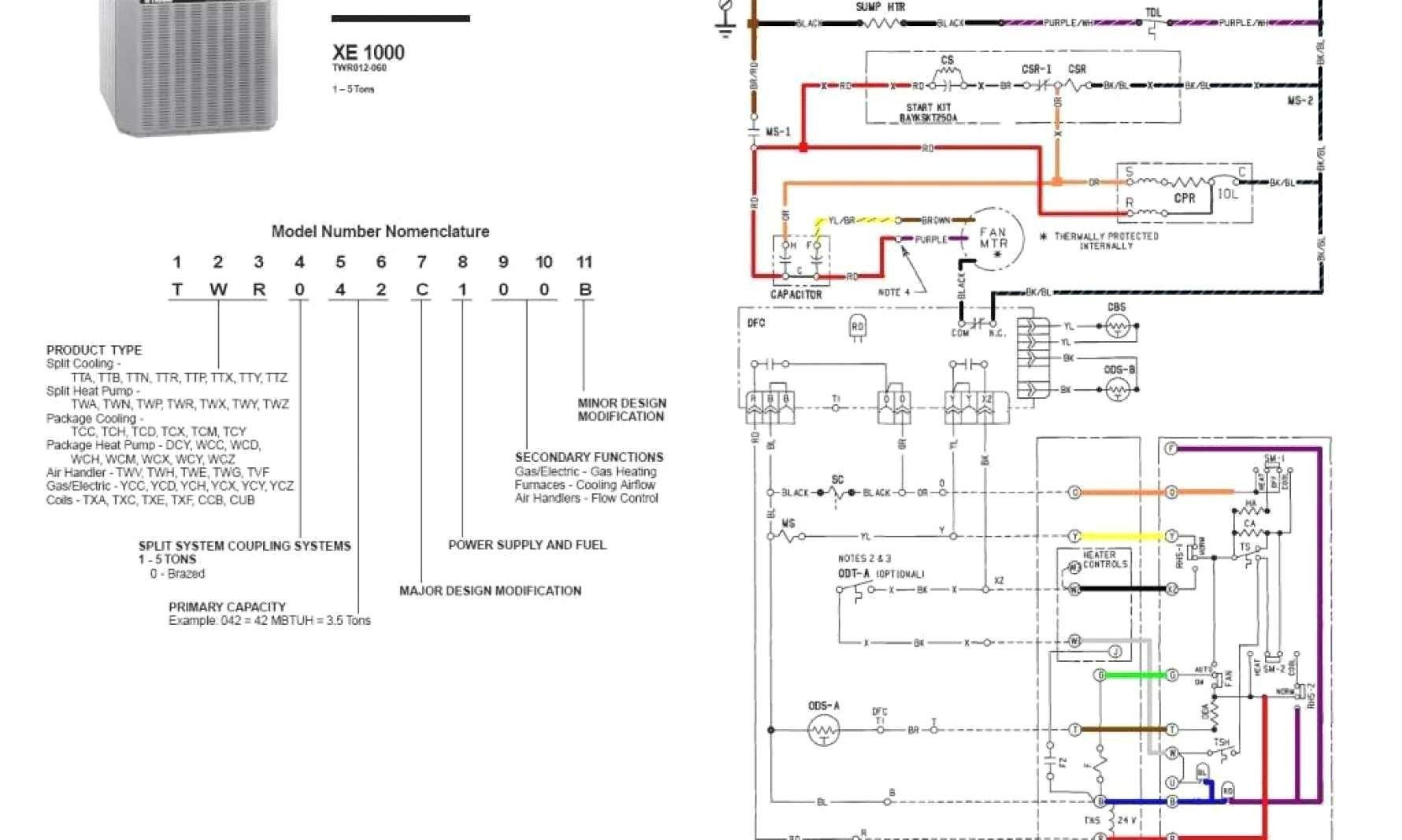 Astonishing Trane Thermostat Wiring Diagram Luxury Wiring Diagram For Trane With Wiring Cloud Hisonepsysticxongrecoveryedborg