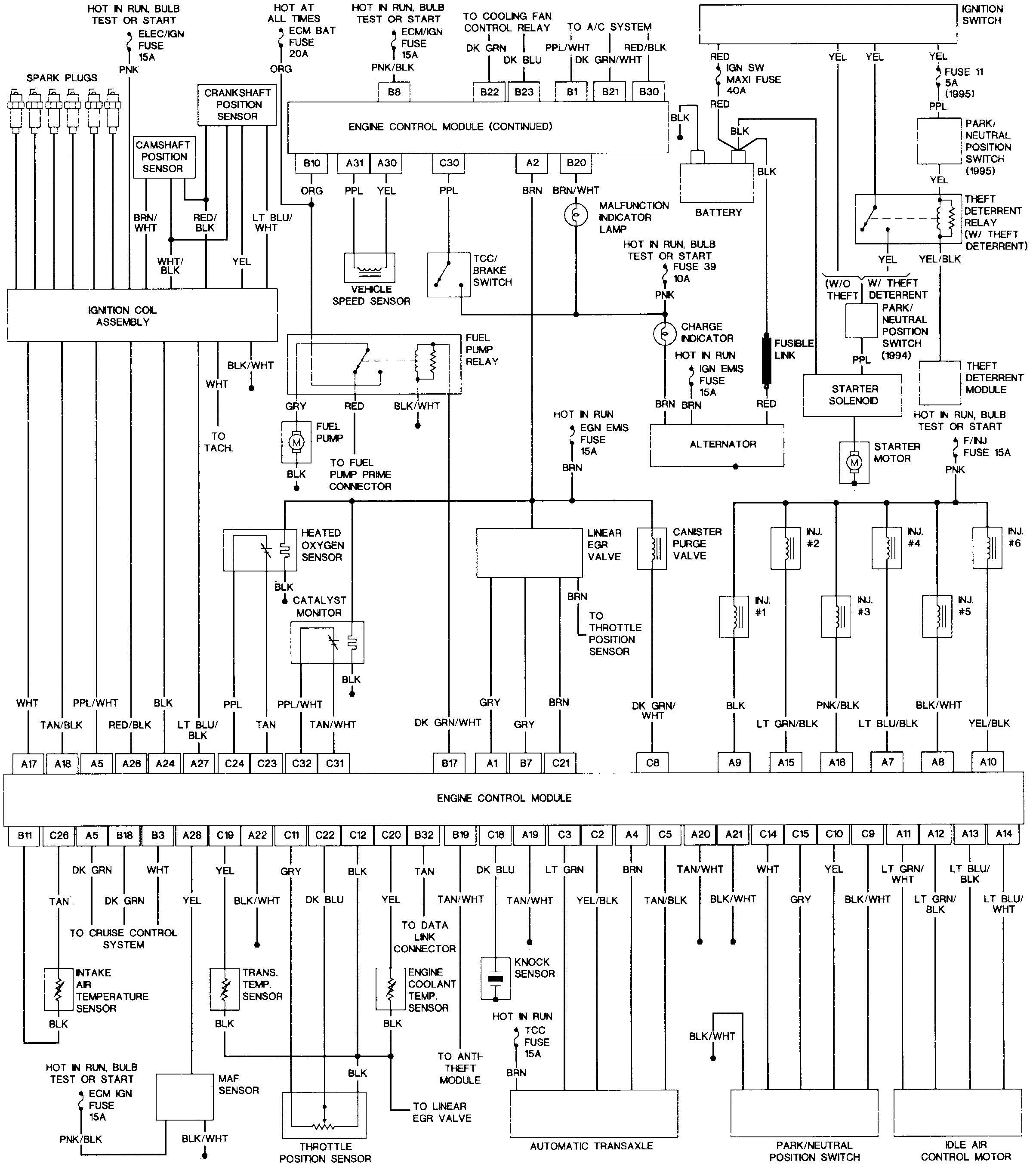 1995 nissan stereo wiring diagram xx 8285  1997 olds achieva relay location get free image about  1997 olds achieva relay location get
