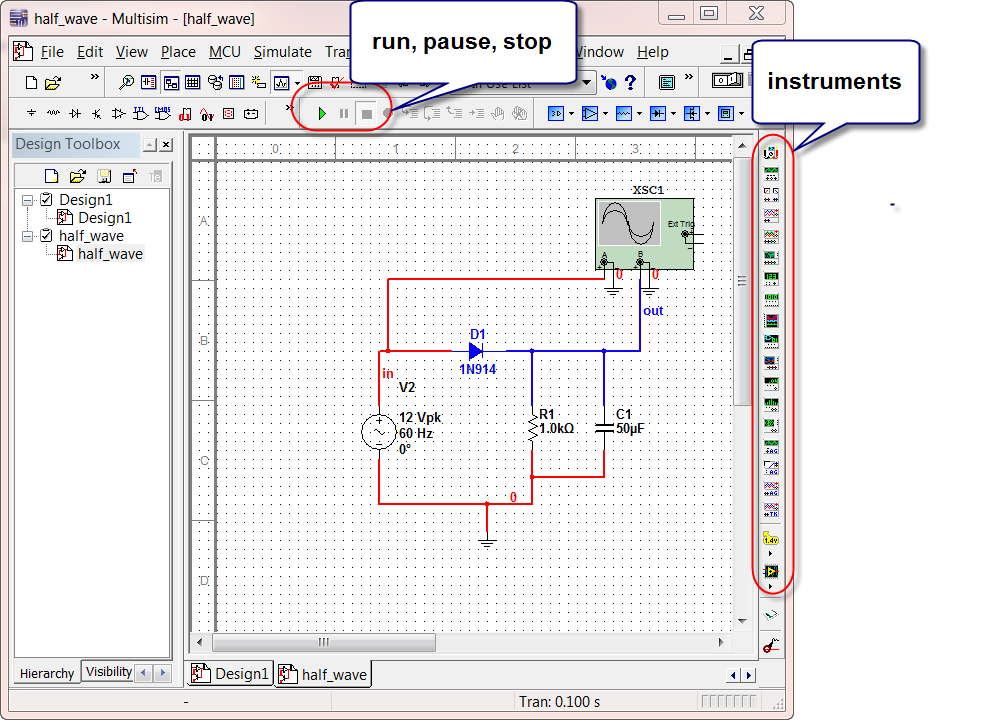 Admirable 3 Rectifiers Simulation With Scope Instrument Circuit Simulation Wiring Cloud Inklaidewilluminateatxorg