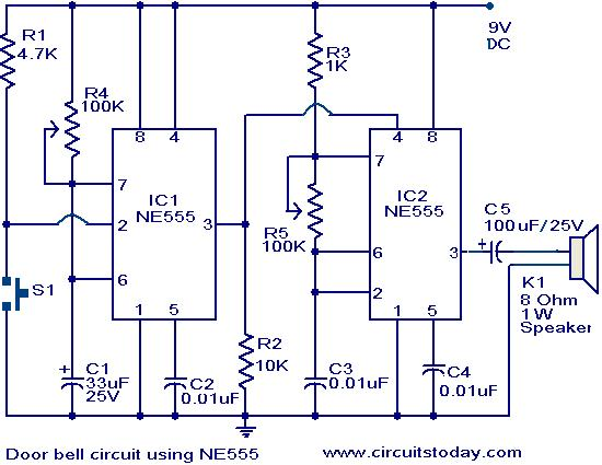 Strange Circuit Description Of 12 Tones Door Bell Basic Electronics Wiring Wiring Cloud Cranvenetmohammedshrineorg