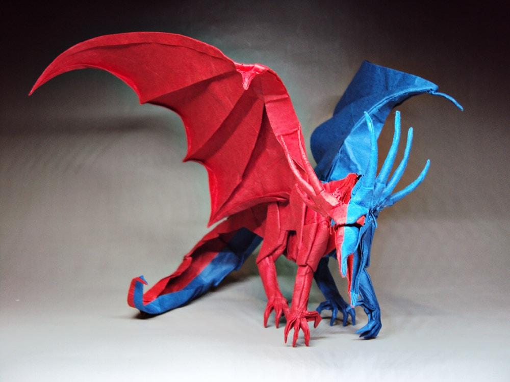 Super 27 Spectacular Western Style Origami Dragons Wiring Cloud Licukaidewilluminateatxorg