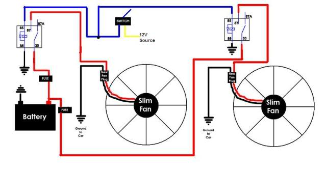 Pleasant Dual Fans Wiring To Switch Third Generation F Body Message Boards Wiring Cloud Grayisramohammedshrineorg