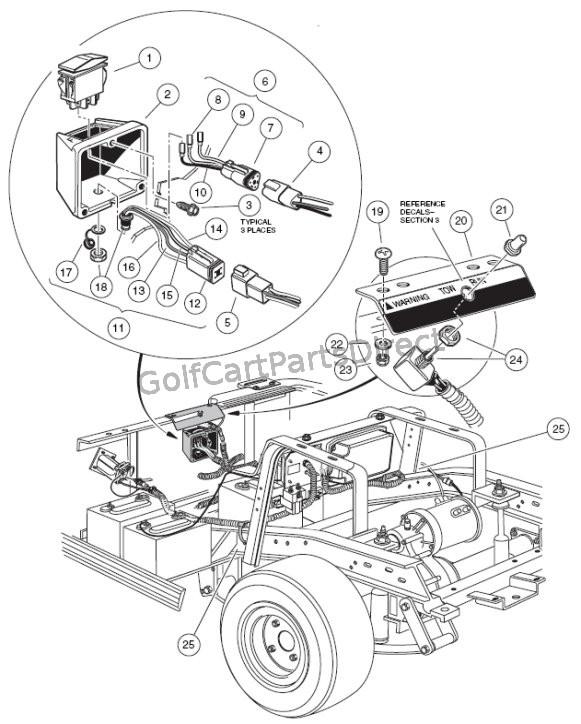 Dm 2601 1984 Club Car Wiring Diagram
