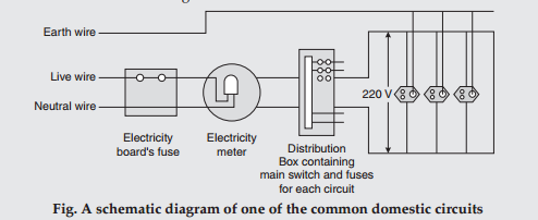 Awe Inspiring List Four Important Features Of Domestic Electric Circuits Draw A Wiring Cloud Waroletkolfr09Org