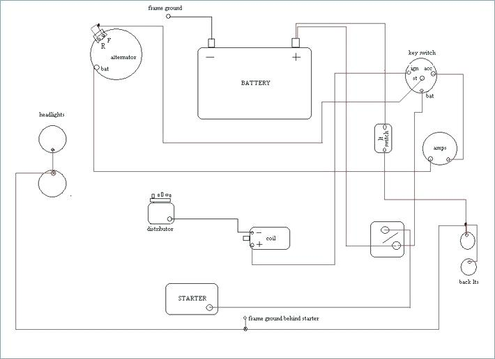 mf40 tractor ignition switch wiring diagram 1956 chevy