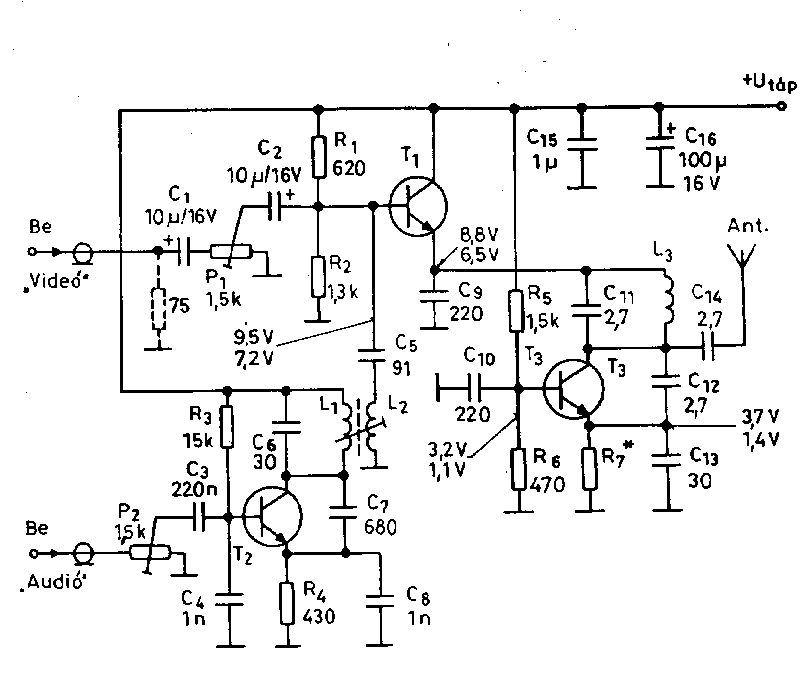 Fantastic Video Related Circuit Schematics Circuit Diagrams Including Video Wiring Cloud Faunaidewilluminateatxorg