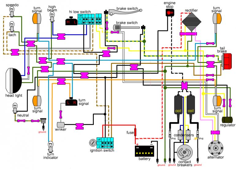Honda Cb360 Wiring Diagram Database