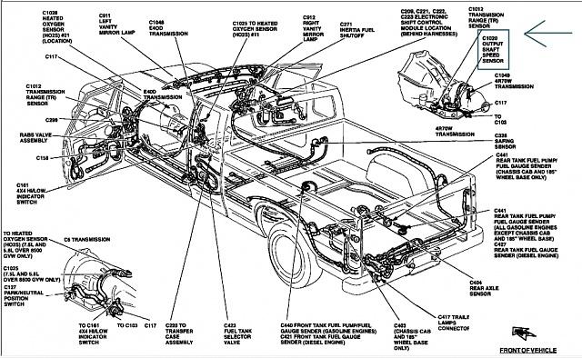 ford e4od transmission parts diagram 1992 ford e350 transmission diagram wiring diagram data  1992 ford e350 transmission diagram