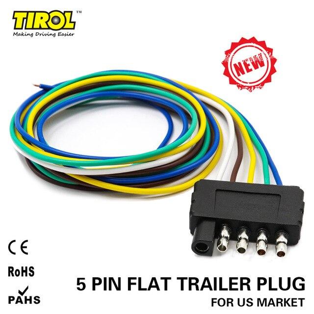 Fantastic Flat 5 Wire Trailer Harness Basic Electronics Wiring Diagram Wiring Cloud Monangrecoveryedborg