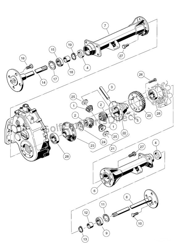 gs3887 light wiring diagram gas club car golf cart wiring
