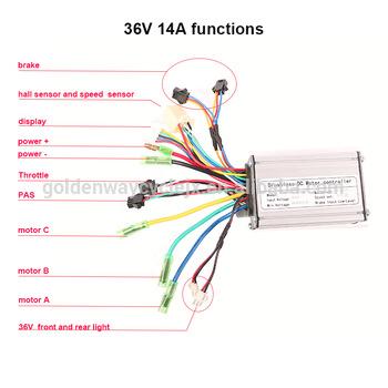 brush dc motor controller wiring diagram st 6151  wiring a electric bike controller 36v diagram free diagram  wiring a electric bike controller 36v