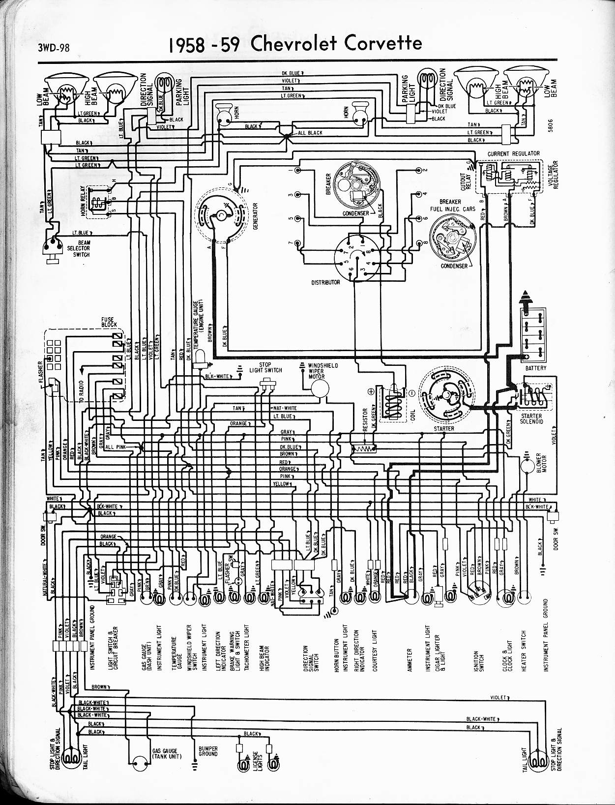 Phenomenal 1958 Chevrolet Steering Column Wiring Wiring Diagram Wiring Cloud Itislusmarecoveryedborg