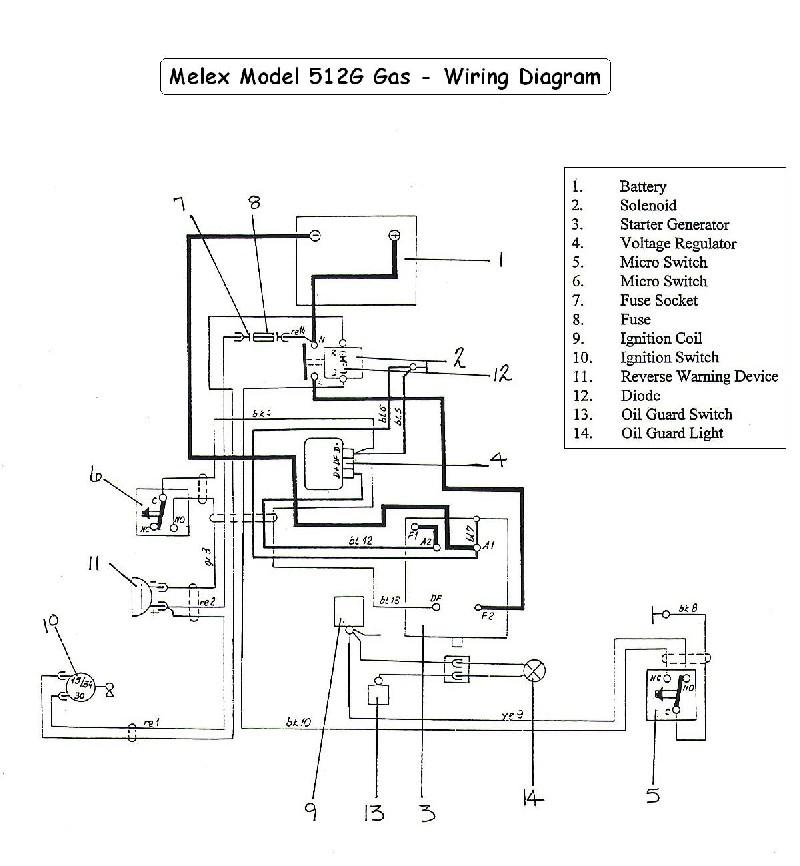 Mw 3002 Melex 252 Golf Cart Wiring Diagram Free Diagram