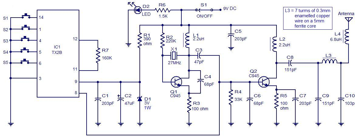 Astonishing Wireless Remote Control Switch Circuit 4 Remotecontrolcircuit Blog Wiring Cloud Ymoonsalvmohammedshrineorg