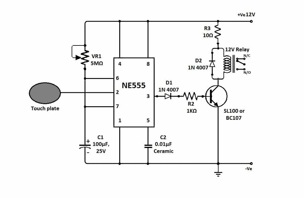 Superb Given In The Circuit Diagram Itself A Simple Elcb Circuit Standard Wiring Cloud Vieworaidewilluminateatxorg