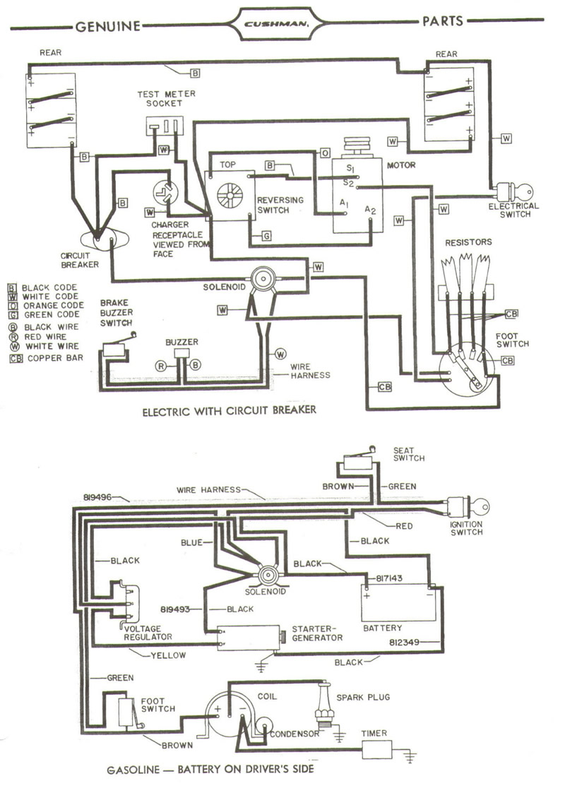Prime Wiring Diagrams Gt Cushman Wiring Diagram On Cushman Golf Cart Wiring Cloud Rometaidewilluminateatxorg