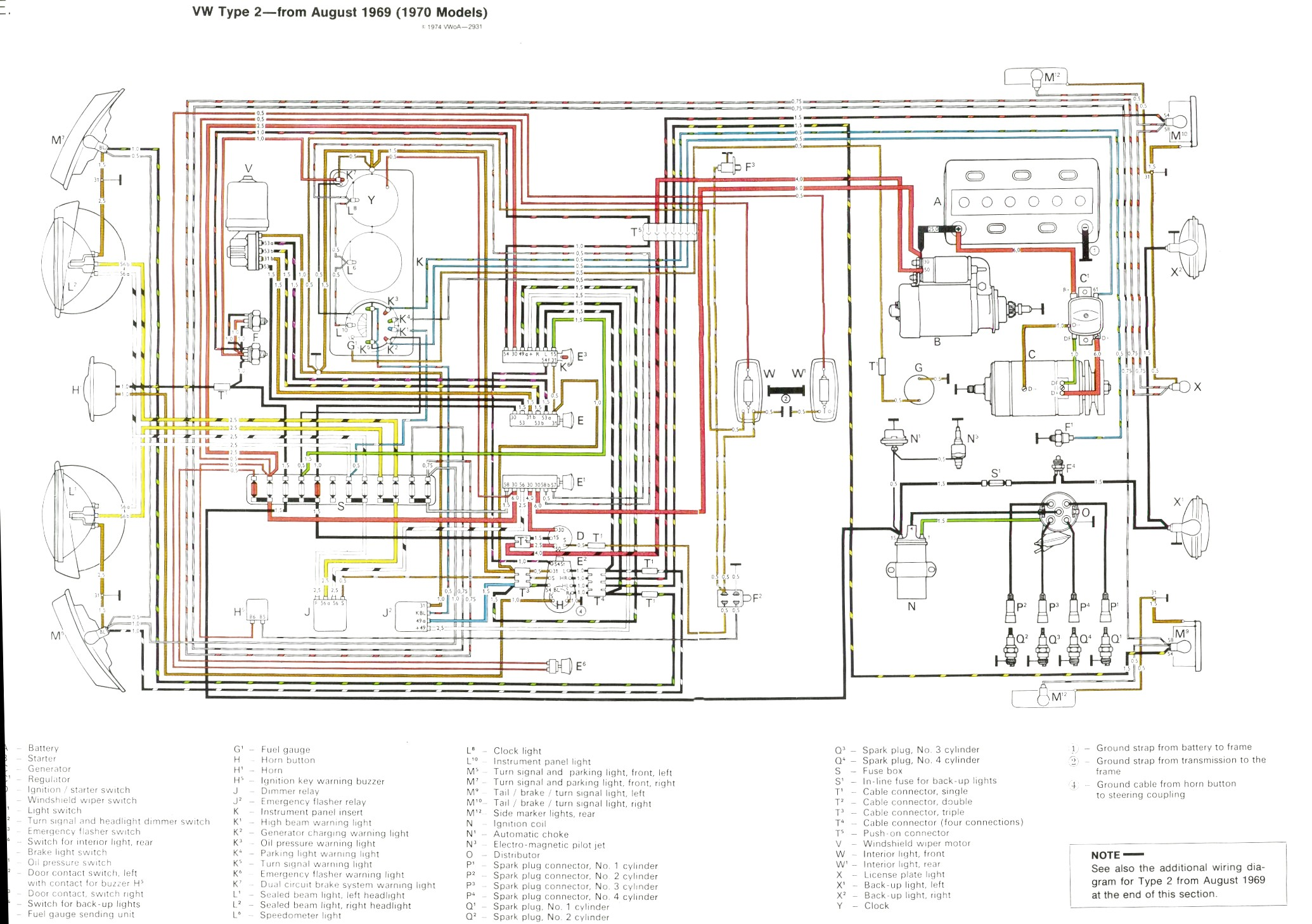 AX_9797] Vw Bus Wiring Diagram Moreover Vw Bus Wiring Diagram On 1969 Vw  Free DiagramGue45 Sapebe Mohammedshrine Librar Wiring 101