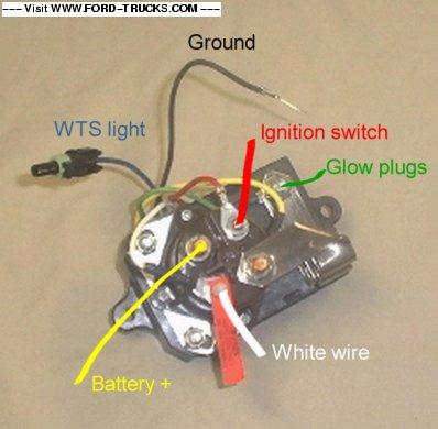Nh 0124 Ford Powerstroke Glow Plugs Relay Wiring Glow Plug