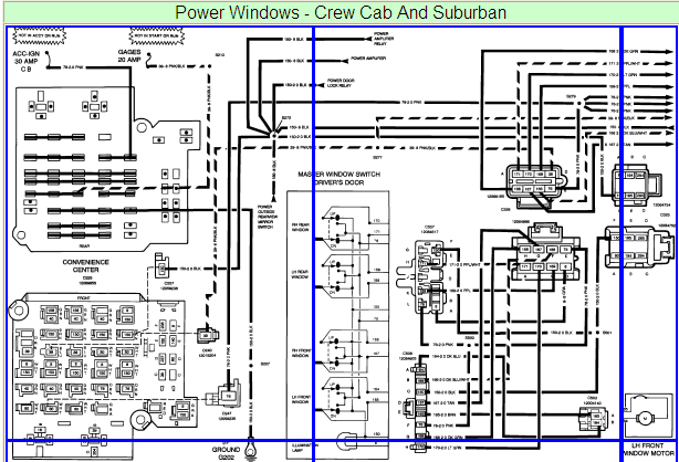 Pleasing Why Did My Power Windows Stop Working On My 1993 Chevrolet Silvarado Wiring Cloud Genionhyedimohammedshrineorg