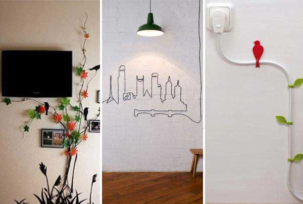 Awesome 20 Creative Diy Ideas To Hide The Wires In The Wall Room Wiring Cloud Domeilariaidewilluminateatxorg