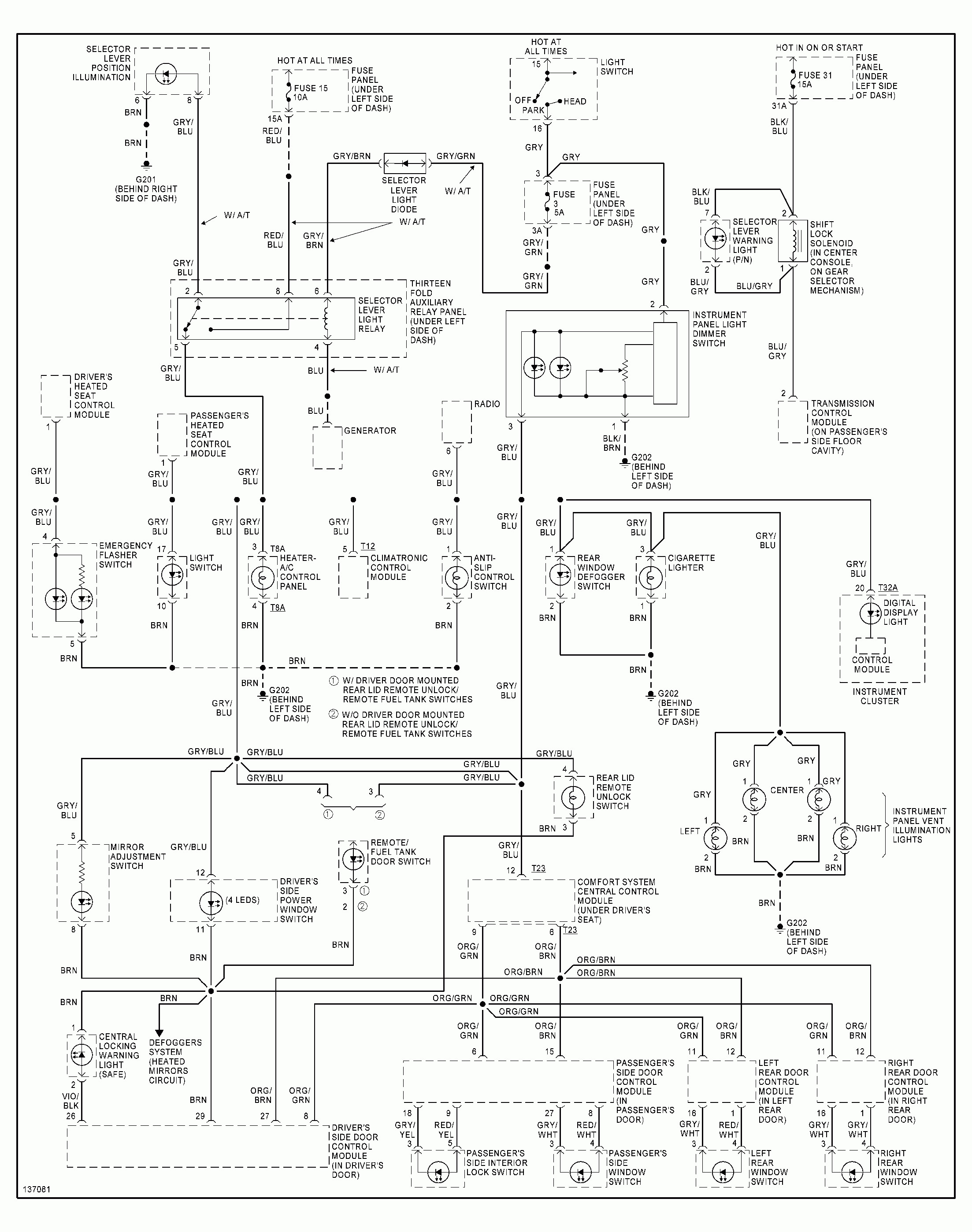 Wiring Diagram Vw Golf 3