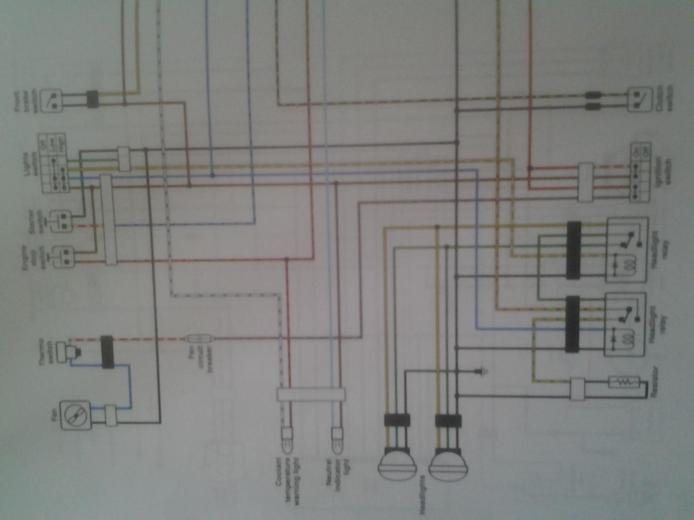 2005 Yfz 450 Electrical Diagram