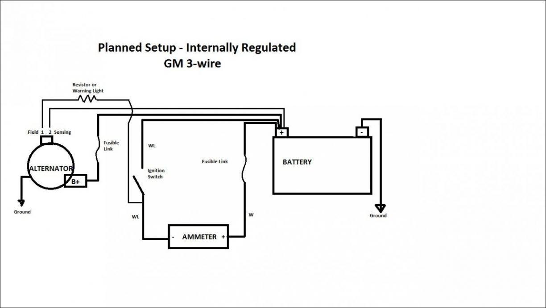 gm 4 wire alternator wiring diagram 3 wire alternator wiring diagram and resistor wiring diagram  3 wire alternator wiring diagram and