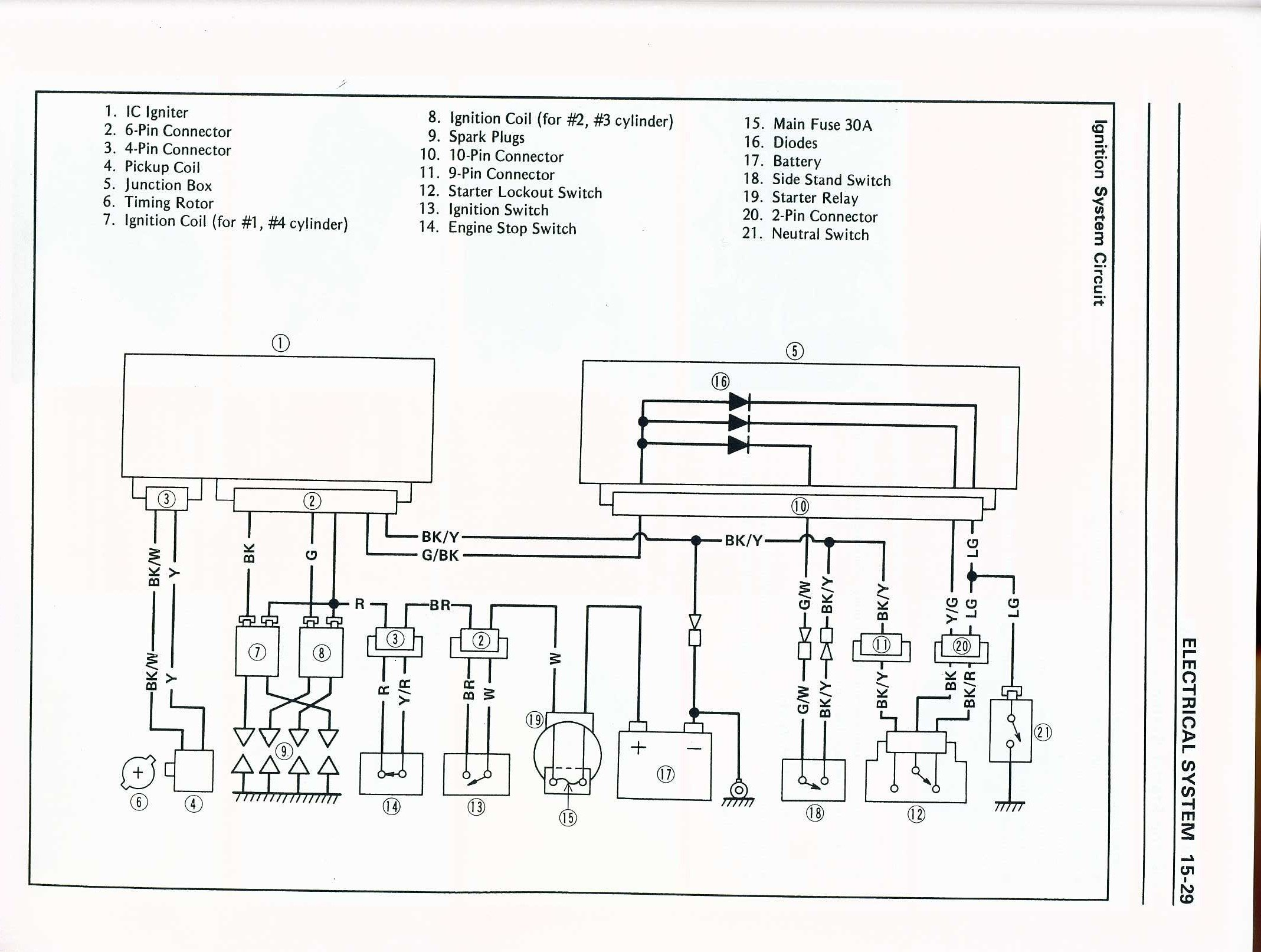 GN_1471] Kawasaki Zx10R Wiring Diagram Download Diagram